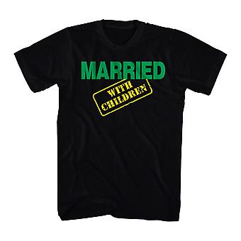 Married With Children MWC Logo Men's Black T-shirt