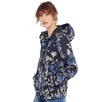 Joules Womens/Ladies Coast Print Patterned Waterproof Hooded Jacket