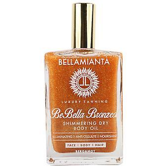 Bellamianta, мерцающие сухой тела масло