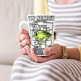 Top Secret Bug Fly Animal NEW White Tea Coffee Ceramic Latte Mug 17 oz | Wellcoda