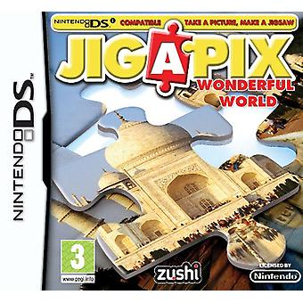 Jigapix Wonderful World (Nintendo DS)