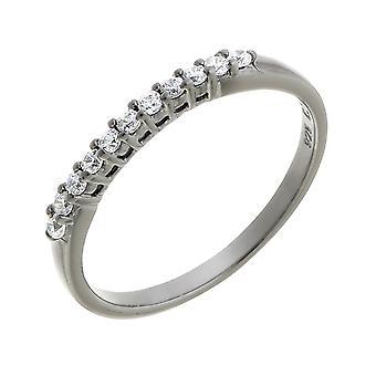 Orphelia Silver 925 Ring Black  Zirconium   ZR-6082/3