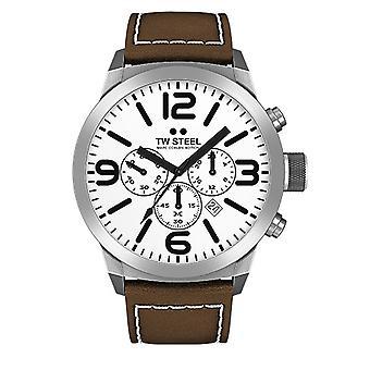 TW stål mænds ur Chrono Marc Coblen Edition TWMC31 wrist watch læder band