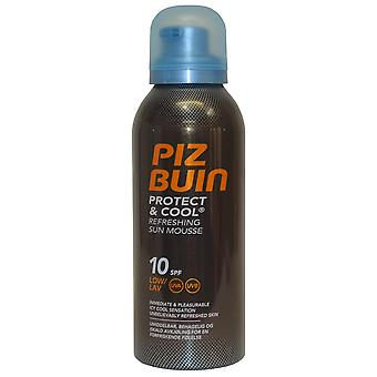 Piz Buin Sun Mousse Refreshing Protect and Cool 150ml SPF10