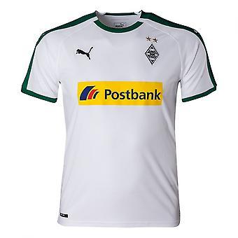 2018-2019 Borussia MGB nach Hause Puma Fußballtrikot