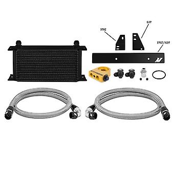 Mishimoto MMOC-370Z-09TBK Black Thermostatic Oil Cooler Kit for Nissan 370Z/Infiniti G37 Coupe
