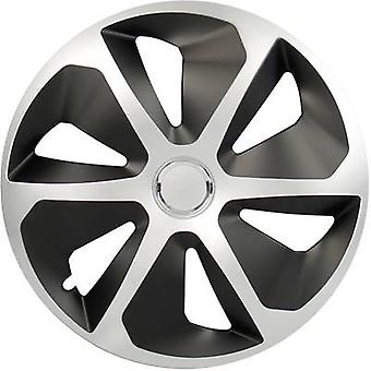 cartrend Roco Wheel trims R15 Silver, Black 4 pc(s)