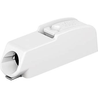 WAGO Spring-loaded terminal 0.75 mm² Number of pins 1 White 1 pc(s)