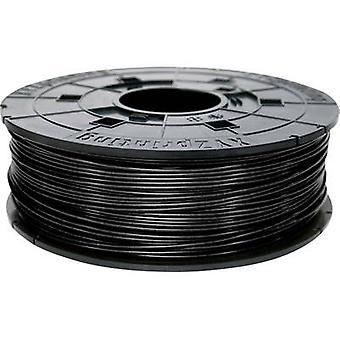 Filament XYZprinting ABS plastic 1.75 mm Black 600 g Refill