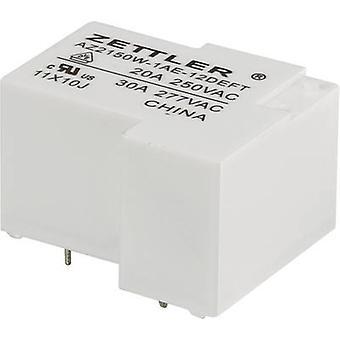 Zettler Electronics AZ2150W-1AE-12DEFT PCB relays 12 Vdc 30 A 1 maker 1 pc(s)