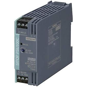 Siemens SITOP PSU100C 12 V/2 A Rail mounted PSU (DIN) 12 Vdc 2 A 24 W 1 x