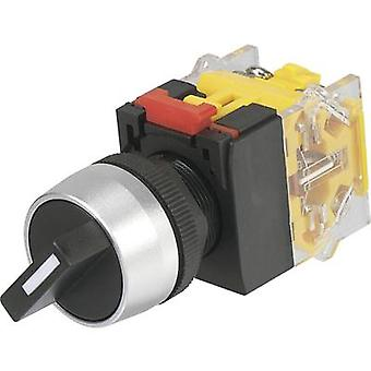 TRU COMPONENTS LAS0-A3Y-11X/23 Rotary switch 250 V AC 5 A Switch postions 2 1 x 90 ° IP40 1 pc(s)