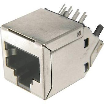 ASSMANN WSW AMJ-188-30101-CAT6 Modular Socket, RJ45, CAT 6 8 RJ45 Socket, horizontal mount Silver