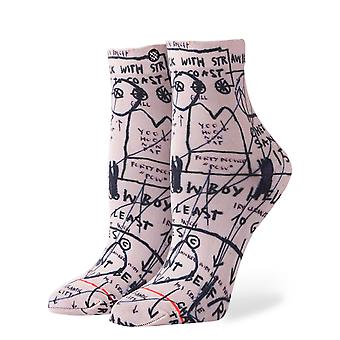 Stance Mostly Old Ladies Basquiat Socks - White