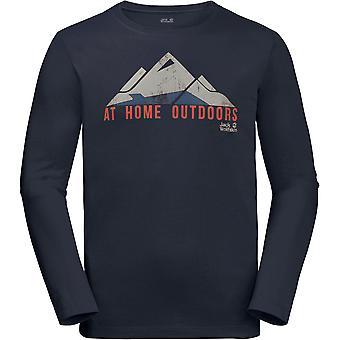 Jack Wolfskin Mens Holmenkollen Lightweight Långärmad T Shirt