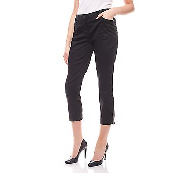 sheego ladies stretch-Jeans7/8 trousers black