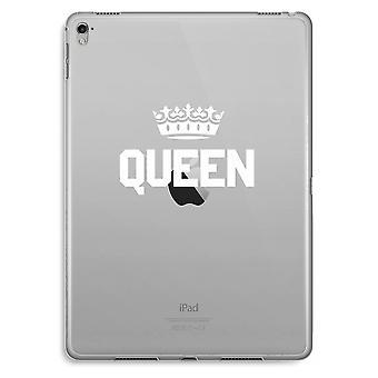 iPad Pro 9,7 inch Transparent Case (Soft) - Queen black