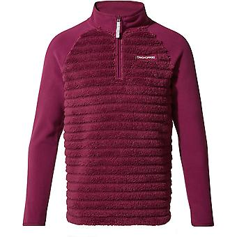 Craghoppers Boys & Girls Maddiston Half Zip Fleece Jacket