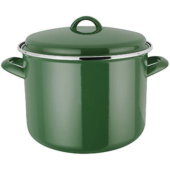 Judge Induction, Green 24cm Stockpot, 7.8 Litre