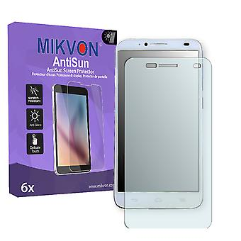 Alcatel One Touch Idol 2S Screen Protector - Mikvon AntiSun (Retail Package with accessories)