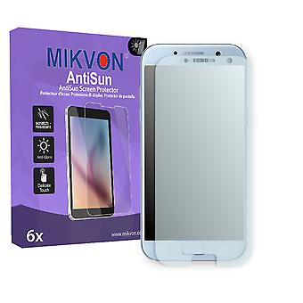 Samsung Galaxy A5 (2017) Screen Protector - Mikvon AntiSun (Retail Package with accessories) (reduced foil)