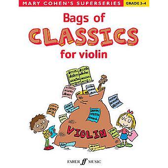 Väskor av klassiker för Violin - Violinsolo av Mary Cohen - 978057153602