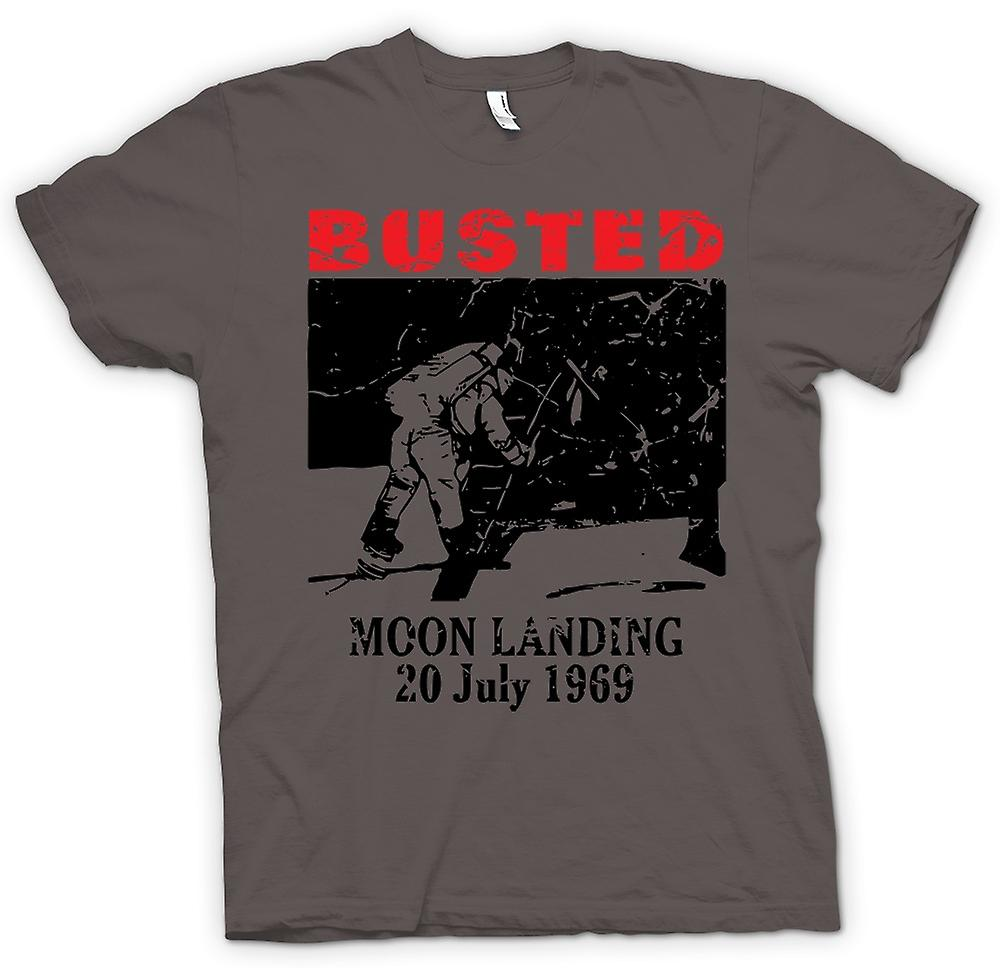 Womens T-shirt - Moon Landing Hoax 1969 - Conspiracy