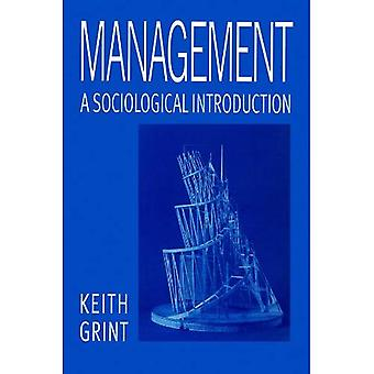 Management: A Sociological Introduction