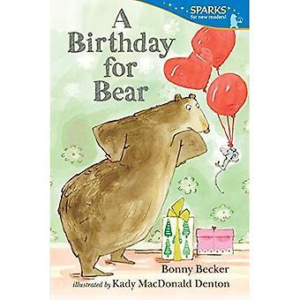Um aniversário para o urso