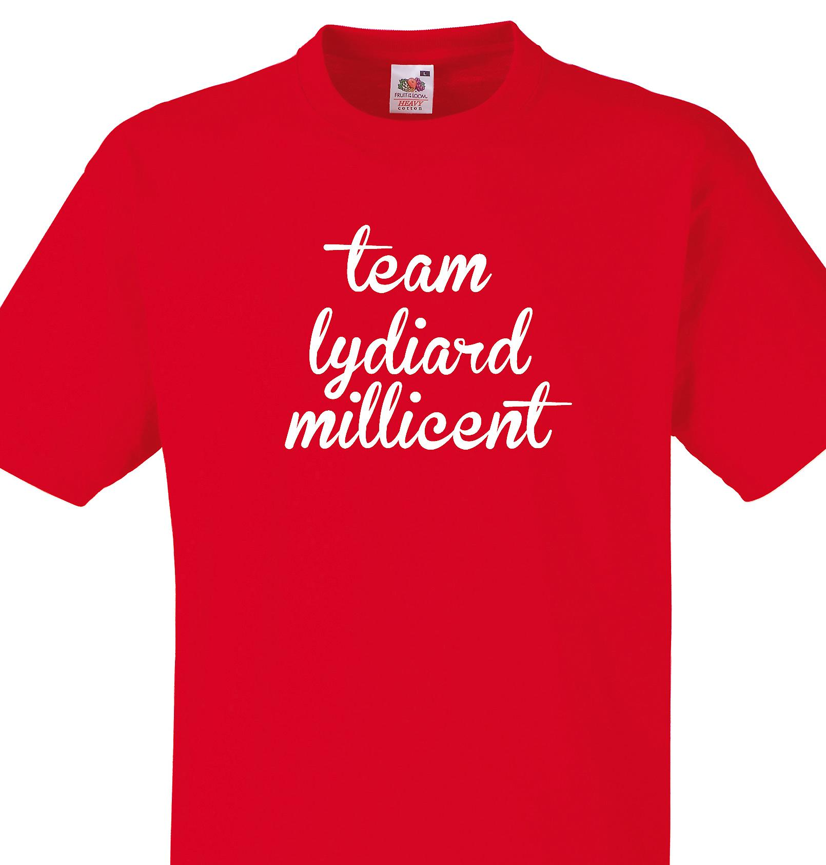 Team Lydiard millicent Red T shirt