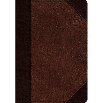 Saltério de Journaling ESV (Trutone, Brown/noz, portfólio Design)