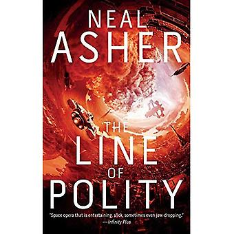 The Line of Polity: The Second Agent Cormac Novel (Agent Cormac)