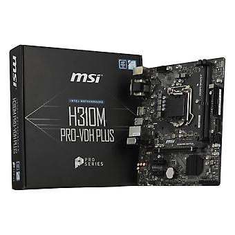 Karte Mutter Gaming-MSI-H310M PRO - VDH mehr mATX LGA1151