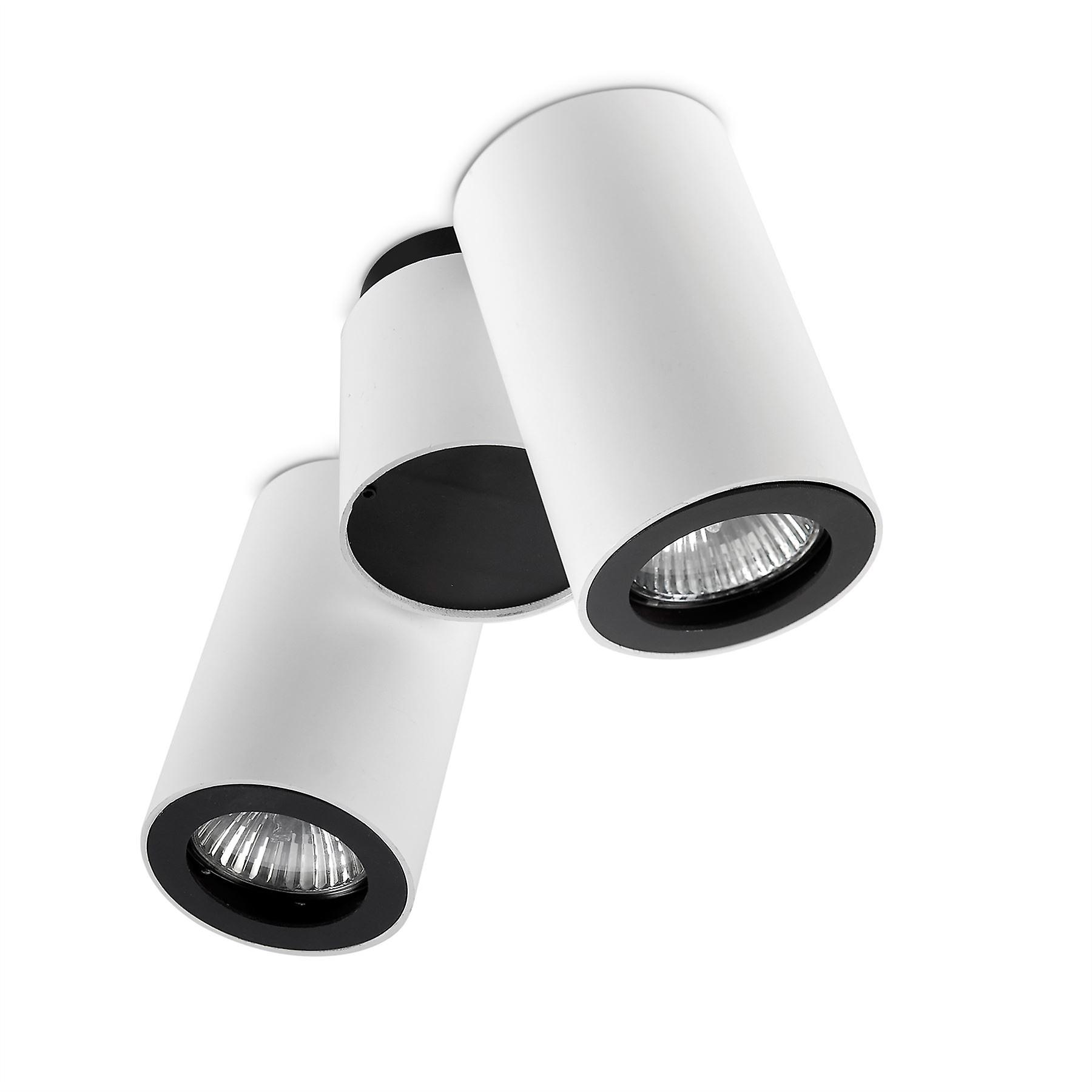 Pipe Adjustable Double Ceiling Light - Leds-C4 15-0074-14-05
