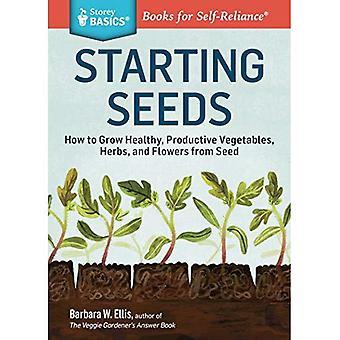 Seed Starting Basics (Storey Basics)