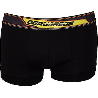 DSquared2 Bladerunner logotyp Boxer Trunk, svart/gul
