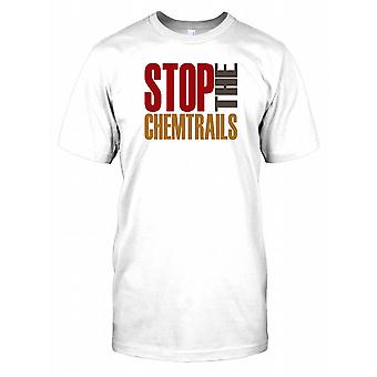 Stop The Chemtrails - Conspiracy T Shirt