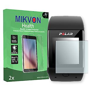 Polar M600 Screen Protector - Mikvon Health (Retail Package with accessories) (reduced foil)