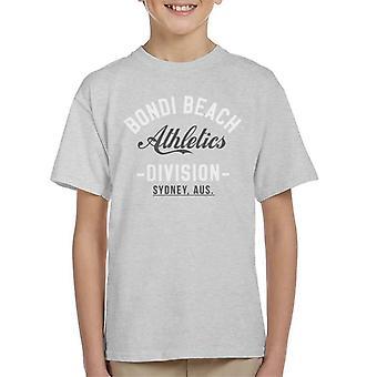 Bondi Beach lekkoatletyka dział dziecięcy T-Shirt