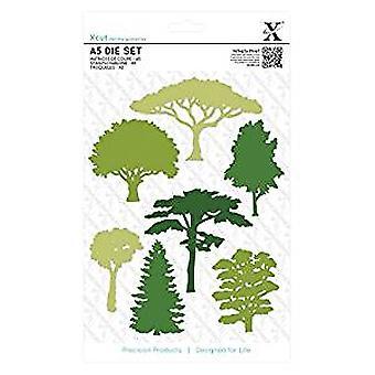 Xcut A5 Die Set (7pcs) - Woodland Trees (XCU 503306)