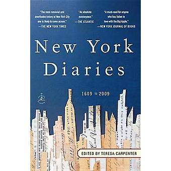 New York Diaries - 1609 to 2009 by Teresa Carpenter - 9780812974256 Bo
