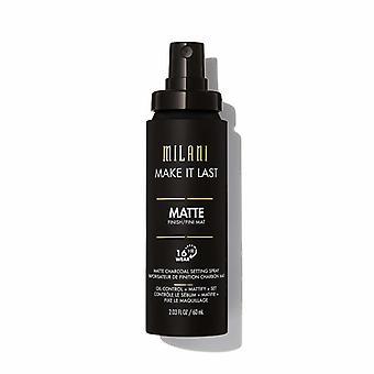 Milani Make It Last matte Charcoal Setting Spray 60ml