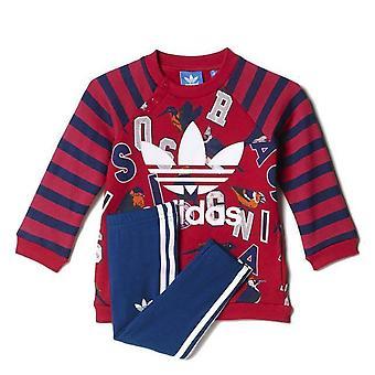 Adidas Originals niemowląt dziewczyny sweter & legginsy
