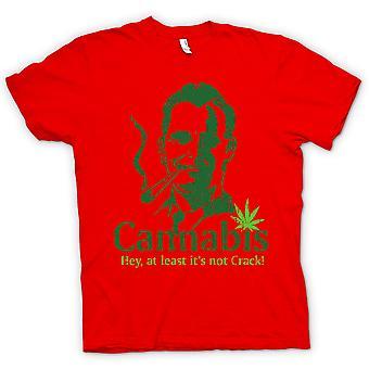Kinder T-shirt - Cannabis - zumindest seine nicht-Crack