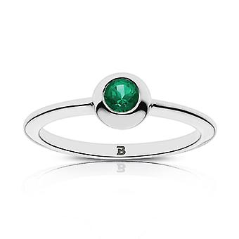 Babson College Babson Engraved Emerald Ring