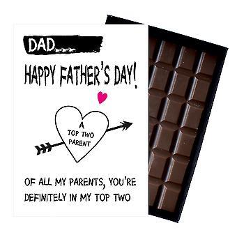 Grappige vaders dag giften voor papa presenteert voor papa papa 85g boxed chocolade FD107