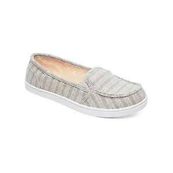 Roxy Young Womens Minnow VI Casual Shoes - Gray Heather