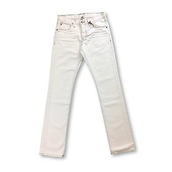 Agave stretch cotton jeans in vintage white