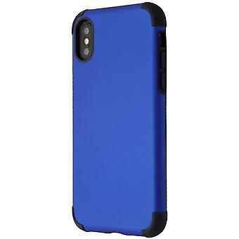 Verizon Rubberized Slim Case for iPhone XS/X - Blue/Black