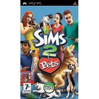Les Sims 2 Animaux (PSP) - Usine scellée